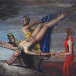 crocifissione 2020 - Tiziano Ciao